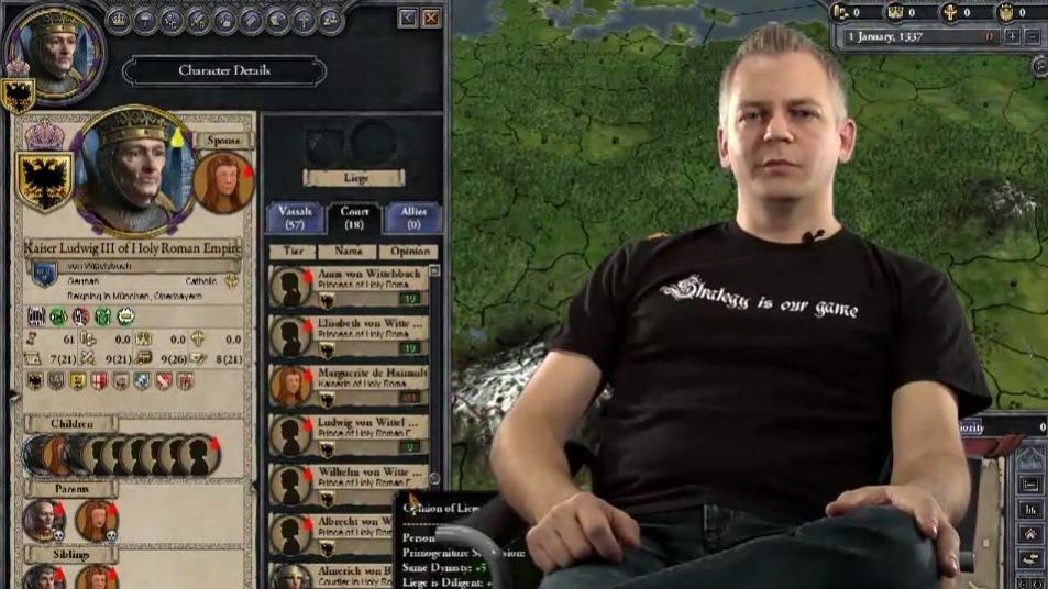 Crusader Kings2 - Video Dev Diary1