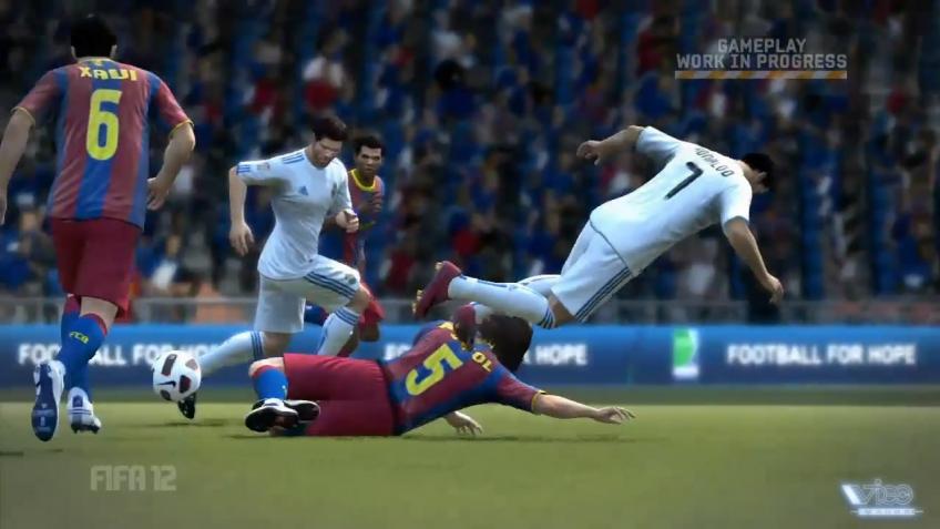 FIFA12 - Player Impact Engine Trailer (русская версия)