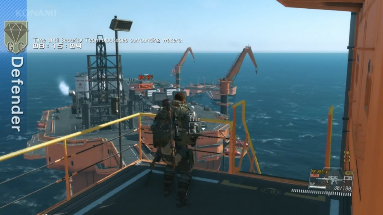 Metal Gear Solid 5: The Phantom Pain - gamescom 2015 Gameplay Demo