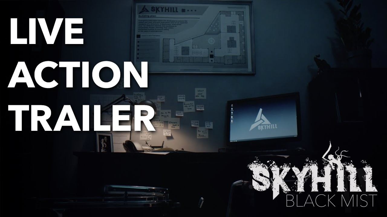 Skyhill: Black Mist. Кинематографический трейлер