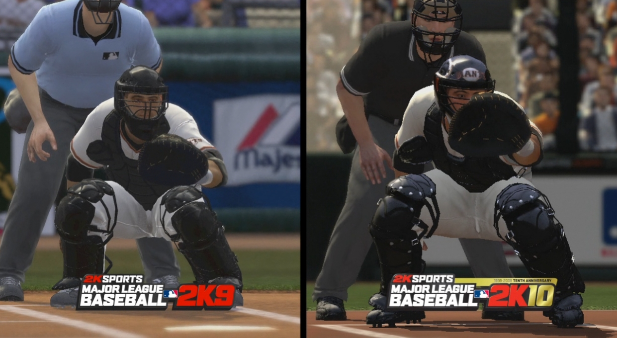 Major League Baseball 2K10 - Comparing Trailer