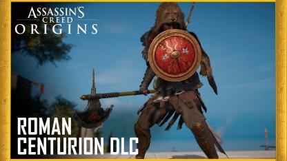 Assassin's Creed Origins. Трейлер Roman Centurion Pack