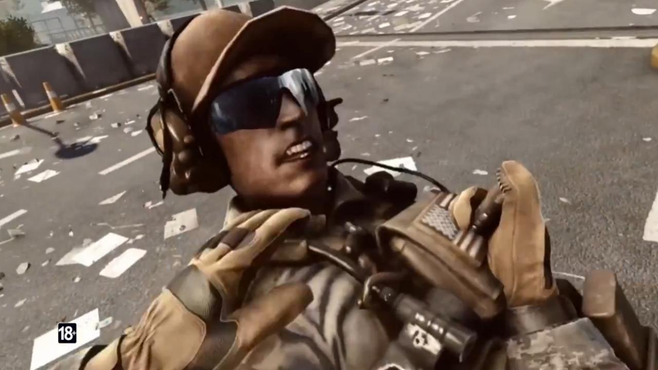 Только в Battlefield4 - Легкая Мишень