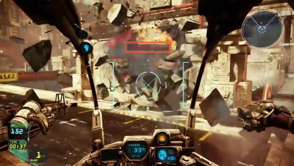 Hawken - GDC 2013 Destruction Demo
