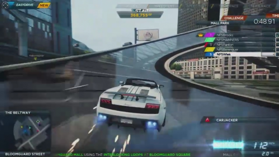 Need For Speed: Most Wanted (2012) - Multiplayer Trailer