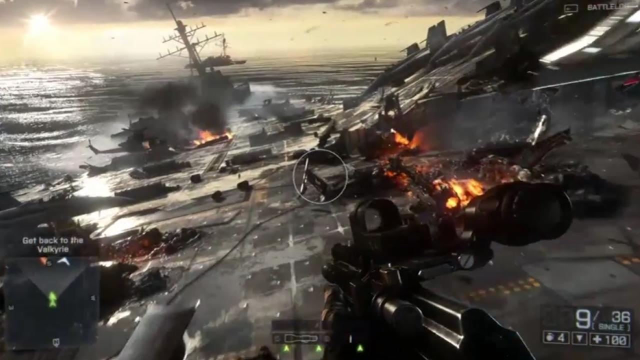 Battlefield4 - E3 Angry Sea Video