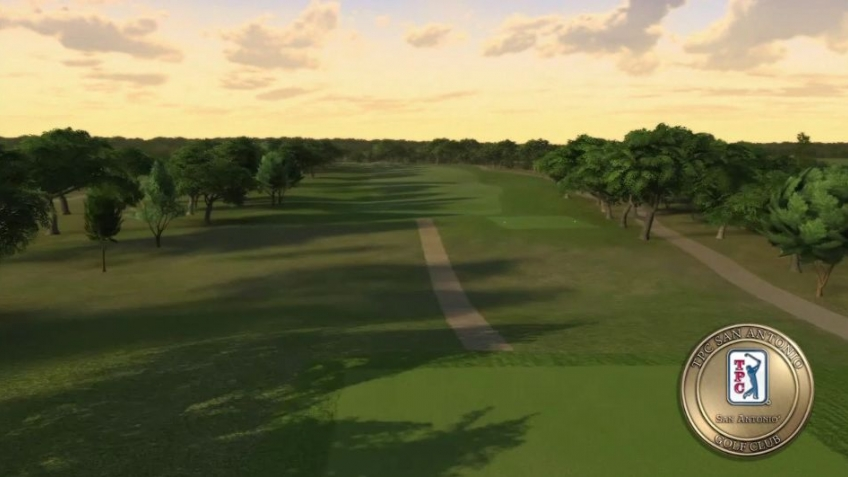 Tiger Woods PGA Tour 12 - San Antonio Flyover