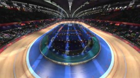 London 2012: The Official Video Game of the Olympic Games - Velodrome Fly Through Trailer