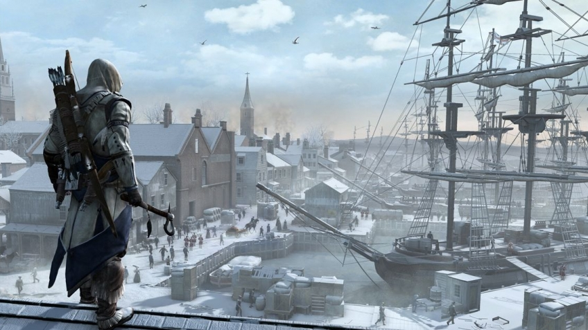 Assassin's Creed 3 - Gamescom 2012 Naval Warfare Trailer (с русскими субтитрами)