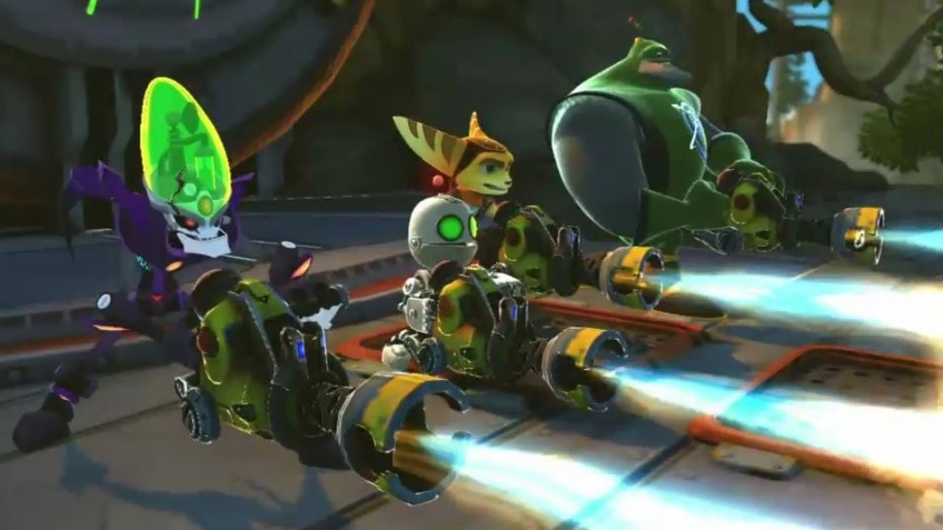 Ratchet & Clank: All 4 One - Pyro Trailer