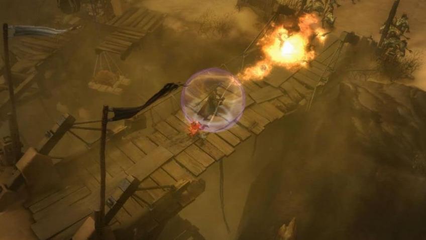 Diablo 3 - BlizzCon 2009 Monk Gameplay Trailer