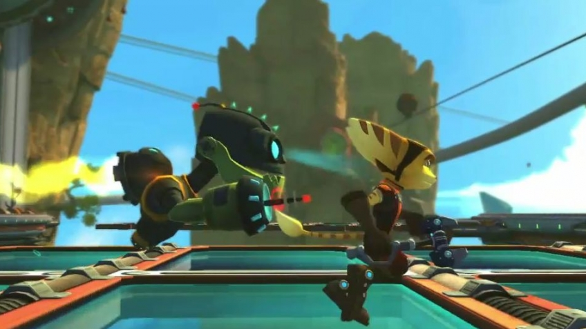 Ratchet & Clank: All 4 One - Mr. Zurkon Trailer