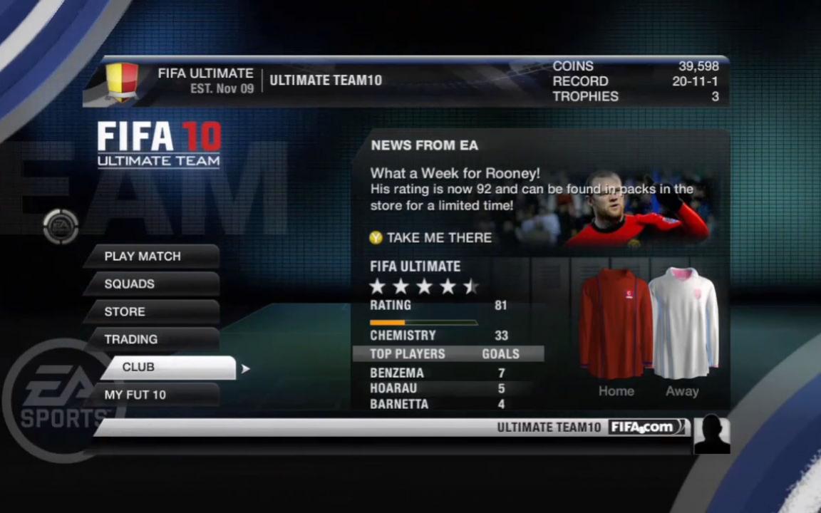 FIFA 10 - Ultimate Team Trailer3