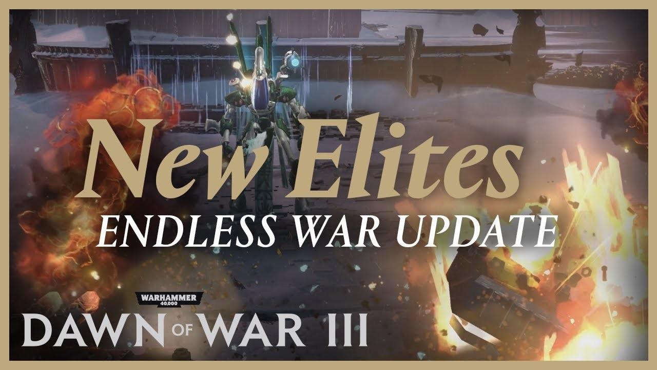 Warhammer 40 000: Dawn of War3. Трейлер Endless War