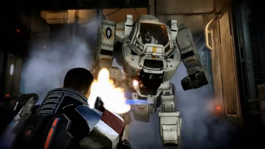 Mass Effect 3 - Трейлер с gamescom 2011 (с русскими субтитрами)