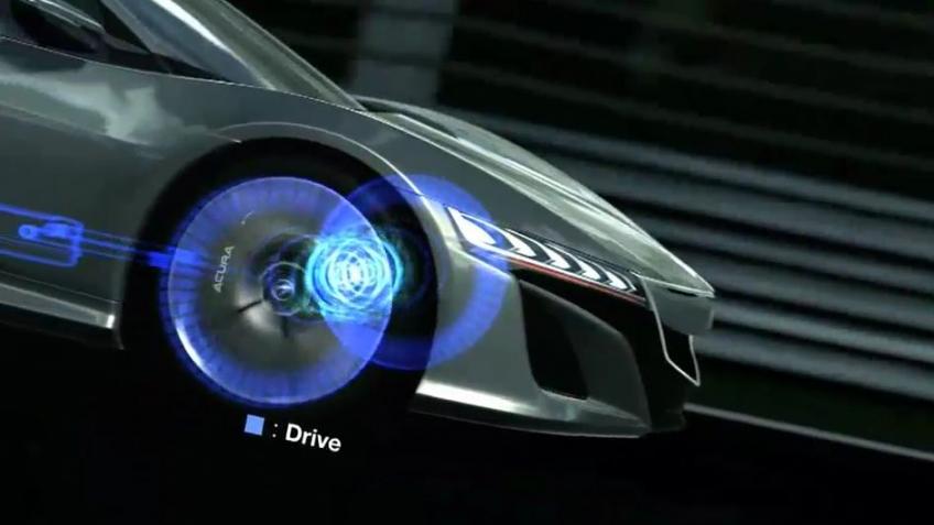 Gran Turismo5 - Acura NSX Concept Trailer