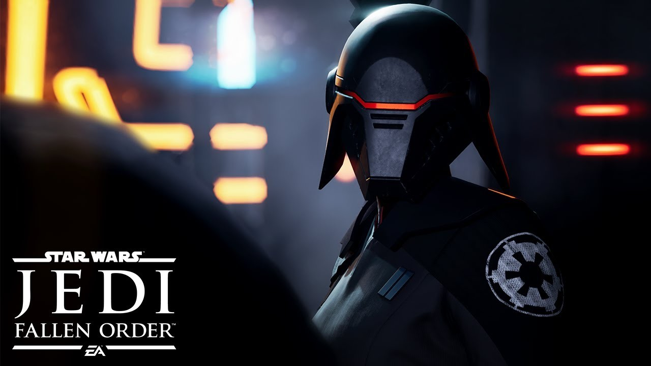 Star Wars Jedi: Fallen Order. Дебютный трейлер