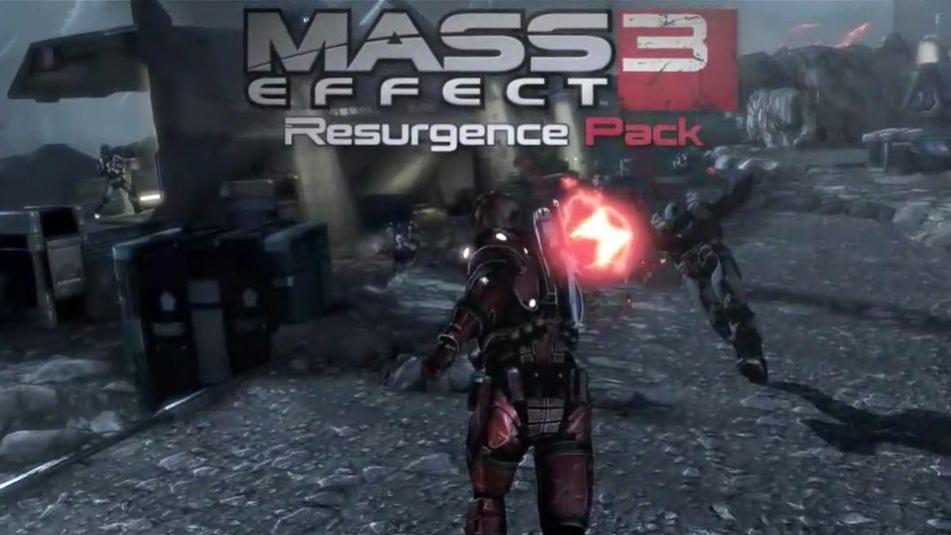 Mass Effect3 - Resurgence Pack DLC Trailer