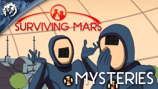 Surviving Mars. Трейлер Mysteries on Mars