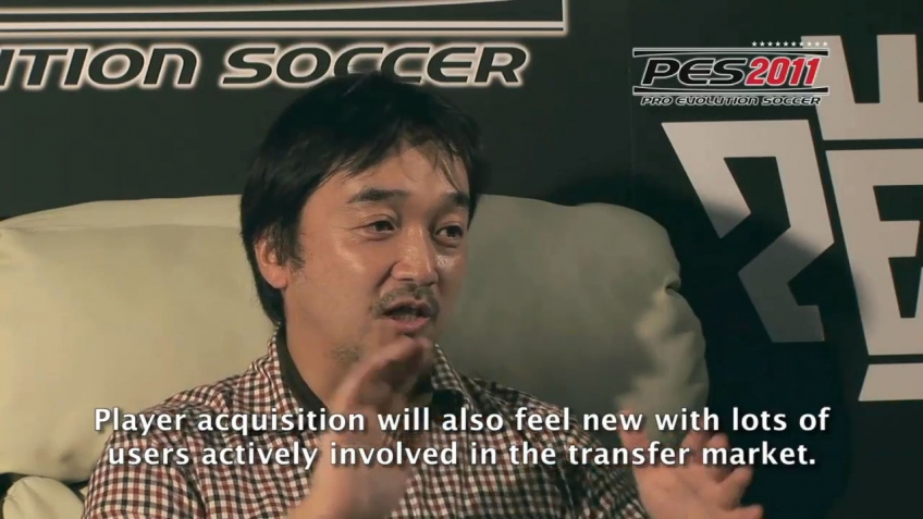 Pro Evolution Soccer 2011 - Master League Online Mode Trailer