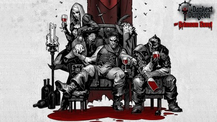 Darkest Dungeon: The Crimson Court. Трейлер к выходу