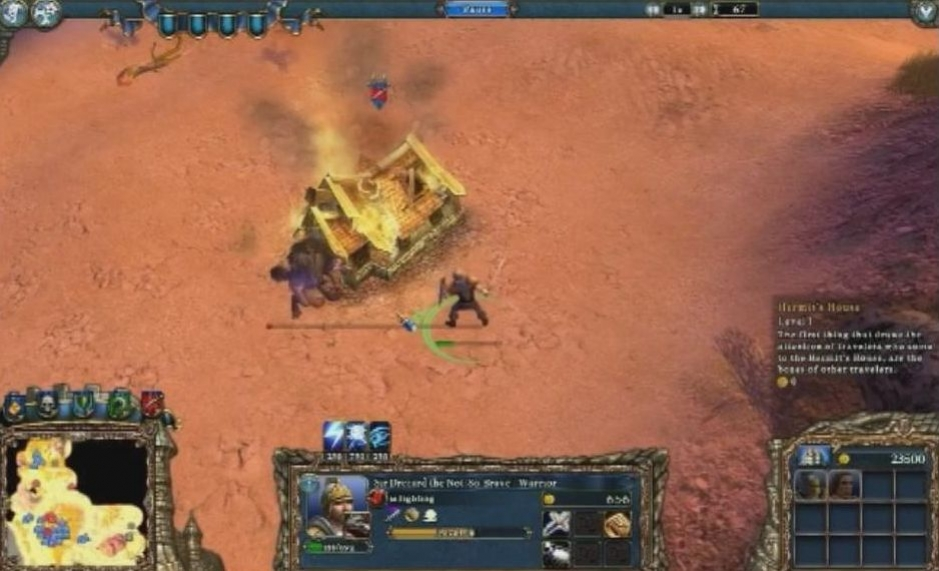 Majesty 2: The Fantasy Kingdom Sim - Fleeing and Dying Trailer