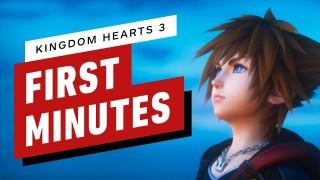 Kingdom Hearts3. Геймплейный трейлер