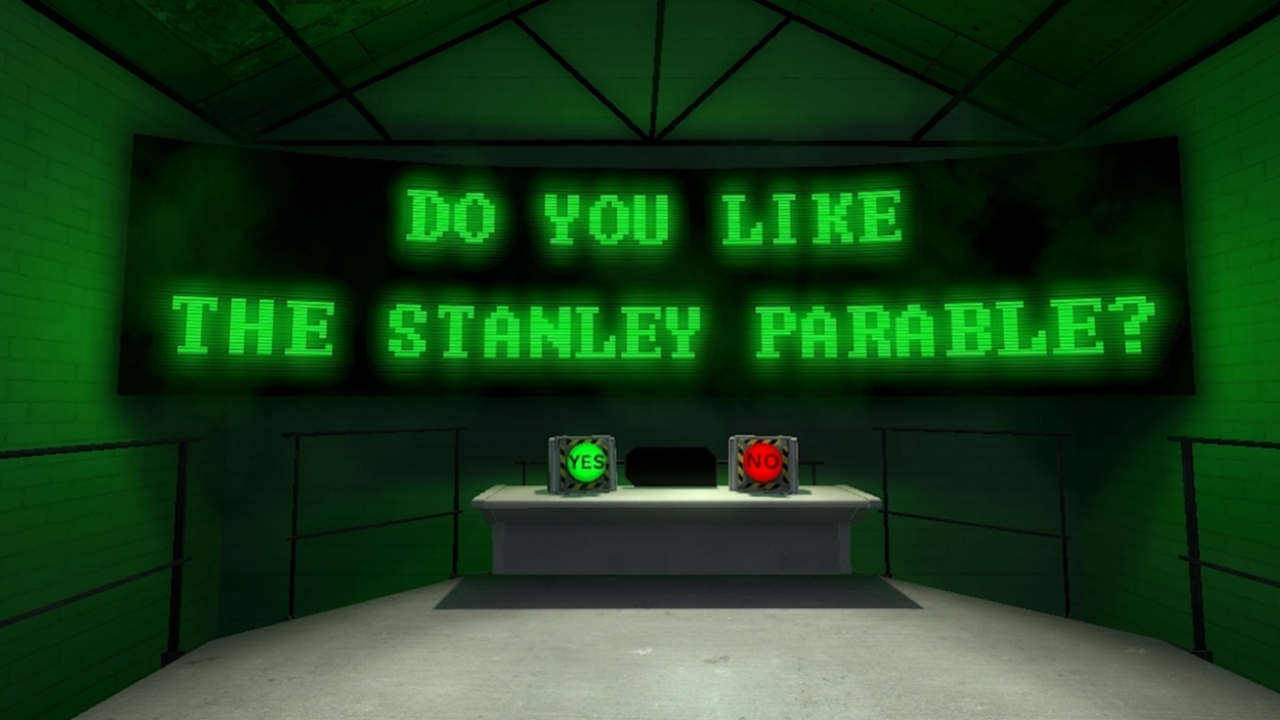 The Stanley Parable Demonstration - Начало игры