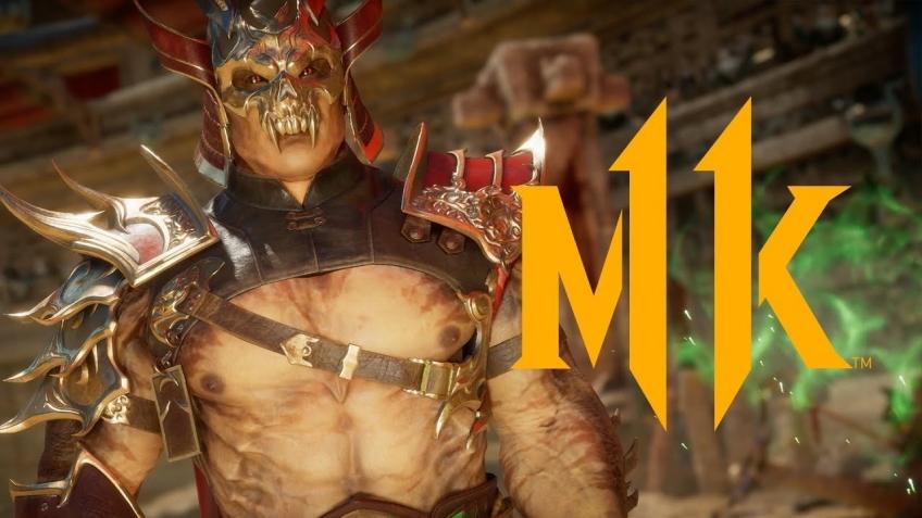 Mortal Kombat11. Трейлер про Шао Кана