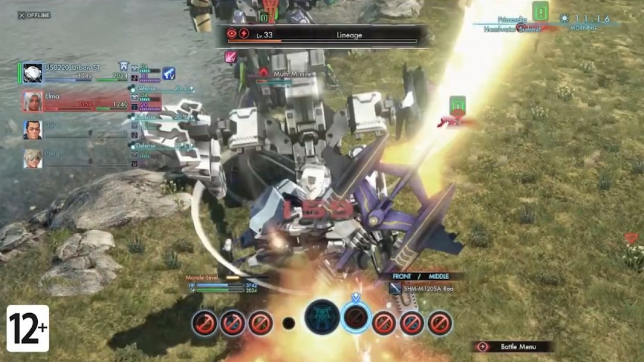 Xenoblade Chronicles X - Боевой трейлер