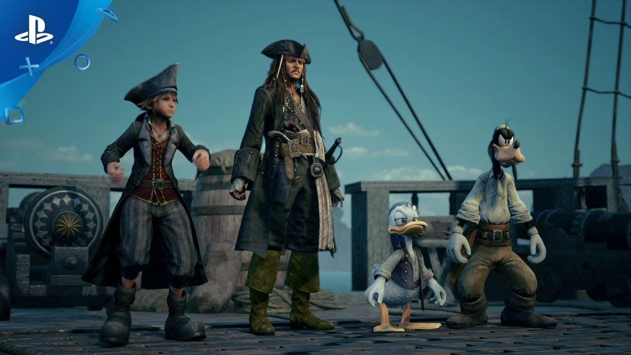 Kingdom Hearts III. Трейлер с E3 2018