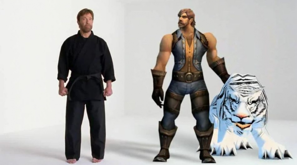 World of Warcraft - Chuck Norris Hunter TV Commercial