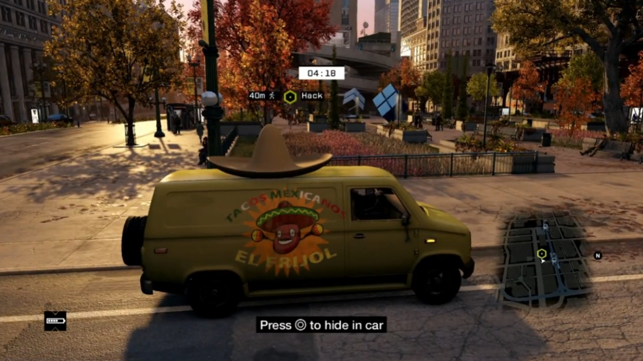 Watch Dogs - Multiplayer Gameplay Video