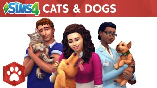 The Sims4. Трейлер дополнения Cats & Dogs с gamescom 2017