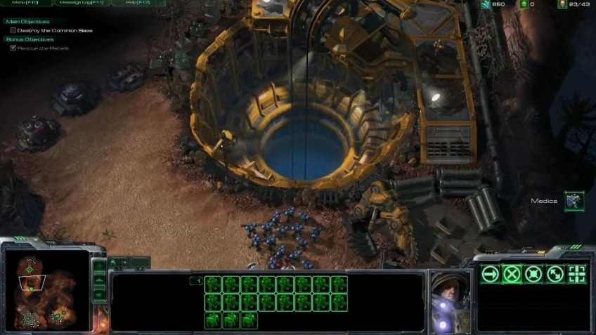 StarCraft 2 - Single-Player Campaign Gameplay Trailer