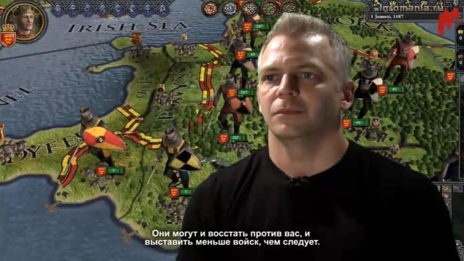 Crusader Kings2 - Units Video Dev Diary (с русскими субтитрами)