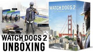 Watch Dogs2 - Распаковка коллекционного издания «Сан-Франциско»