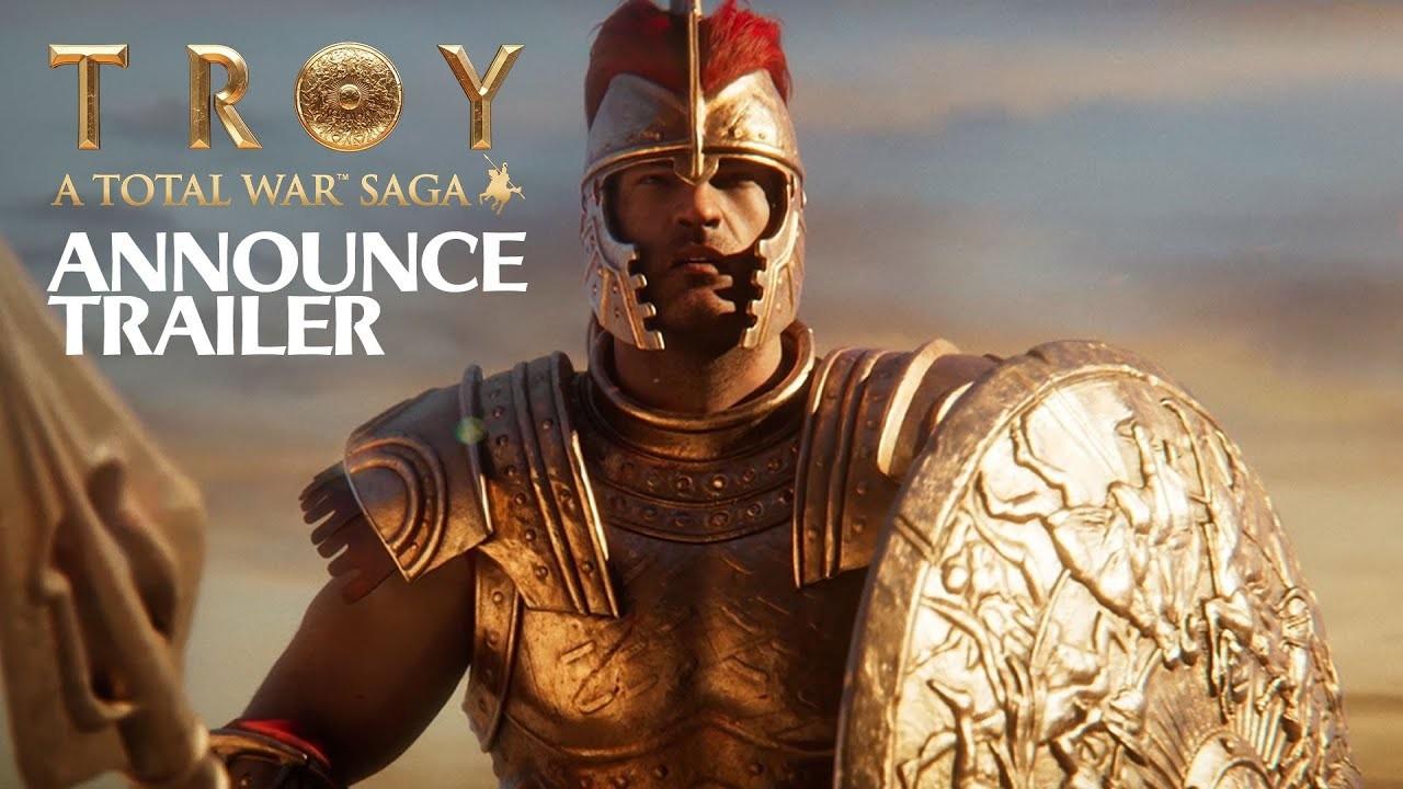 A Total War Saga: Troy. Дебютный трейлер