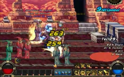 Dungeon Fighter Online - Gunner Gameplay Trailer