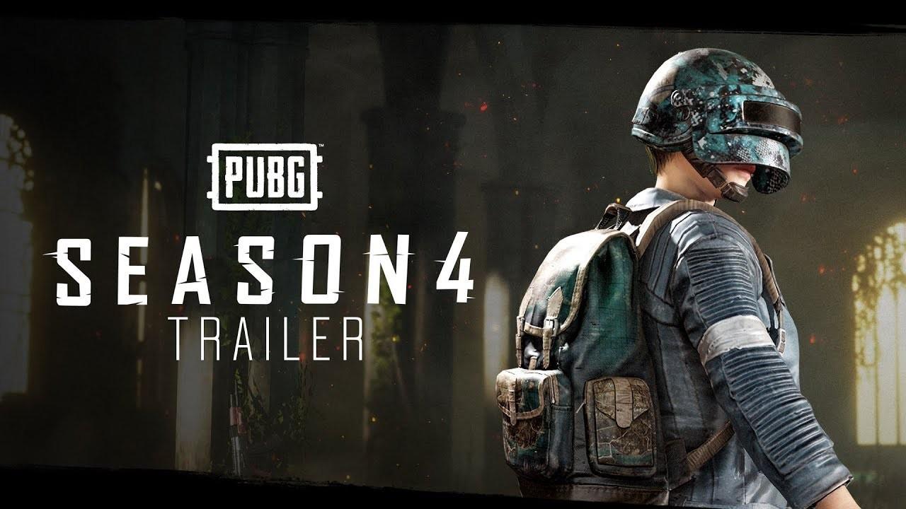 PUBG. Геймплейный трейлер четвёртого сезона