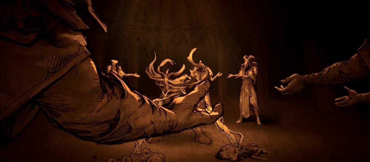 Diablo III. Трейлер Rise of Necromancer (женский голос)