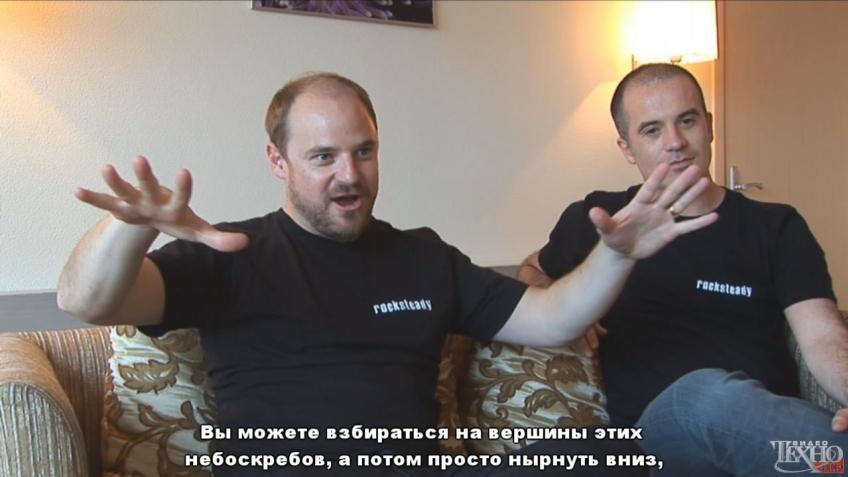 Batman: Arkham City - Интервью с сотрудниками Rocksteady Studios (с русскими субтитрами)