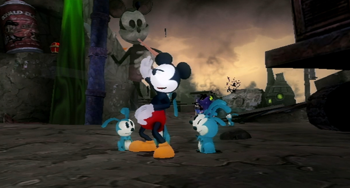 Epic Mickey - Gameplay Trailer4