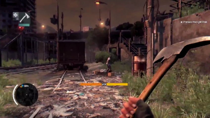 Dying Light - Night Gameplay Video