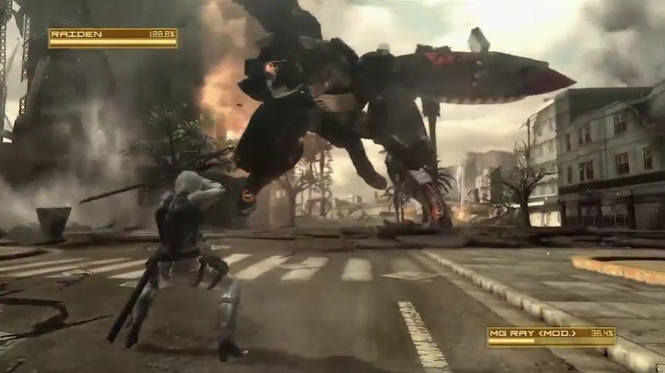 Metal Gear Rising: Revengeance - Gear Ray Boss Battle Trailer