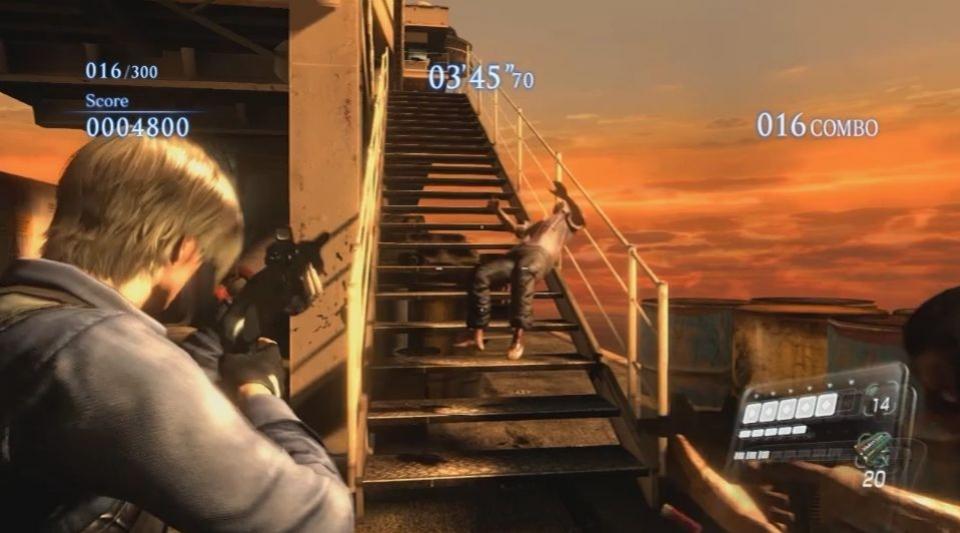 Resident Evil6 - PC Mercenaries No Mercy Gameplay