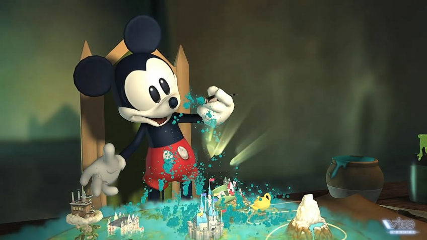 Epic Mickey - Opening Trailer Full (русская версия)