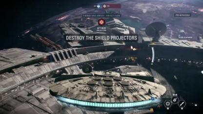 Star Wars Battlefront 2. Геймплейный трейлер режима Starfighter Assault с gamescom 2017