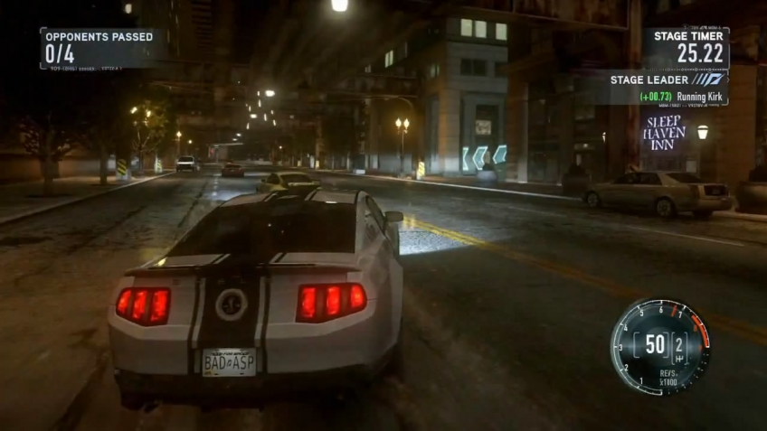 Need for Speed: The Run - E3 2011 Gameplay Trailer (русская версия)