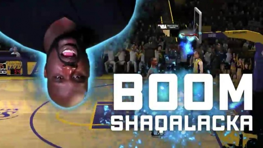NBA Jam: On Fire - Edition Boom SHAQA Montage Trailer